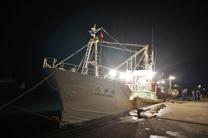Fishing ship - night