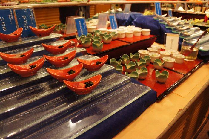 Kyukamura buffet