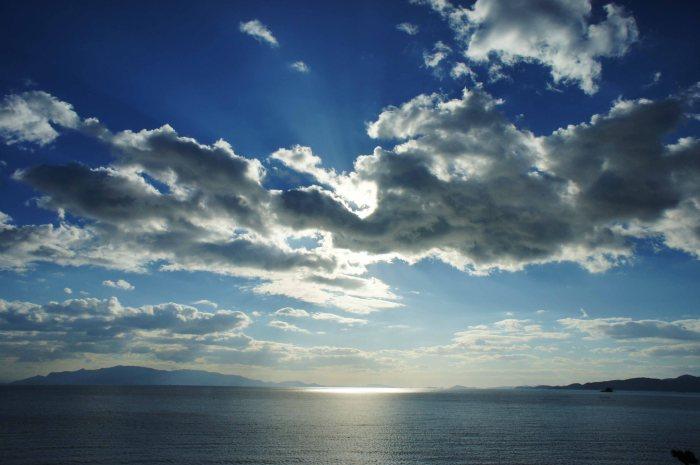 Ako afternoon sky