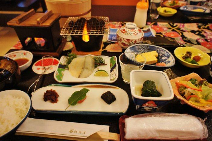 Ginpaso breakfast