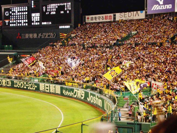 Hanshin Tigers cheering squad